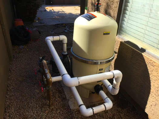 Filter installations. Equipment installations and repairs, 12 Pools , Twelve Pool Service Arizona