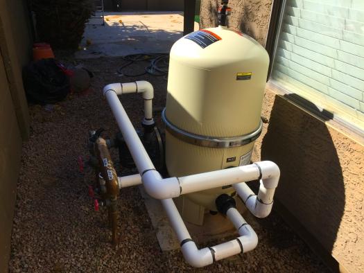 Filter installations. Equipment installations and repairs, 12 Pools , Twelve Pool Service Arizona