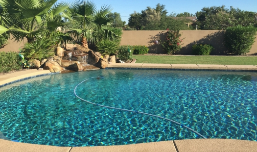 Full weekly pool service. 12 Pools, Twelve Pool Service, Mesa Arizona